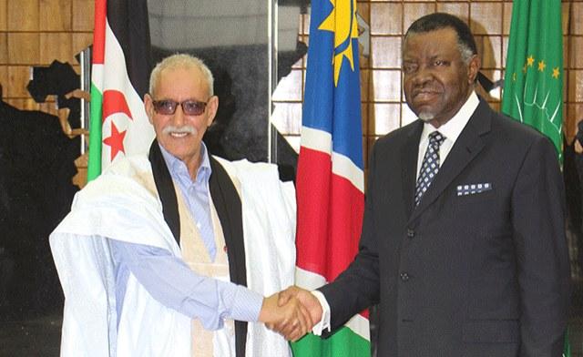 Namibia exige la independencia del Sáhara Occidental y la erradicación del colonialismo.
