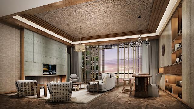 Phòng khách dự án căn hộ laluna resort nha trang
