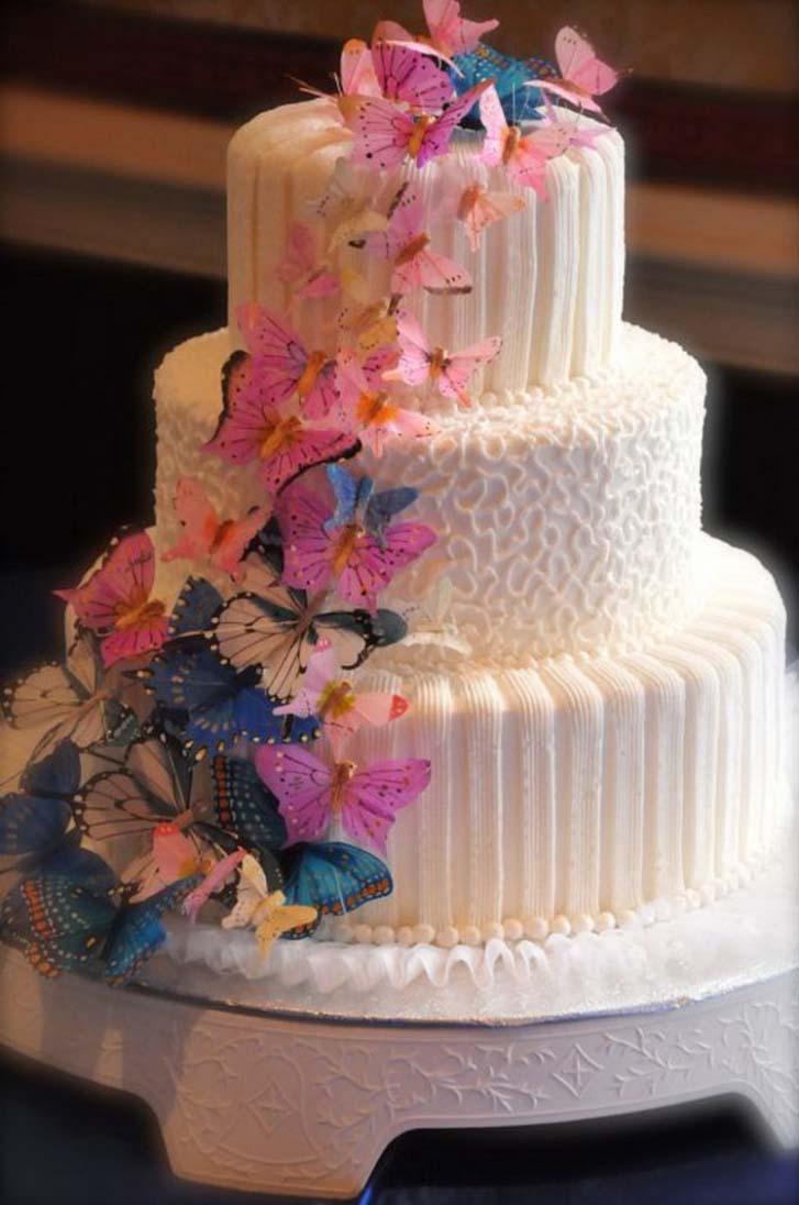 The Beautiful Martha Stewart Wedding Cakes