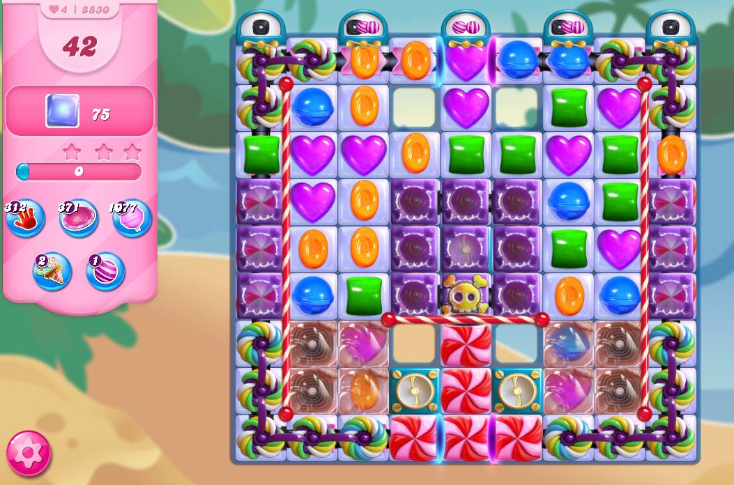 Candy Crush Saga level 8830