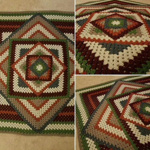 Kaleidoscope Granny Square - Tutorial