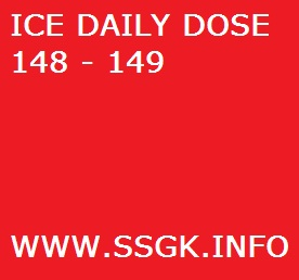 ICE DAILY DOSE 148 - 149