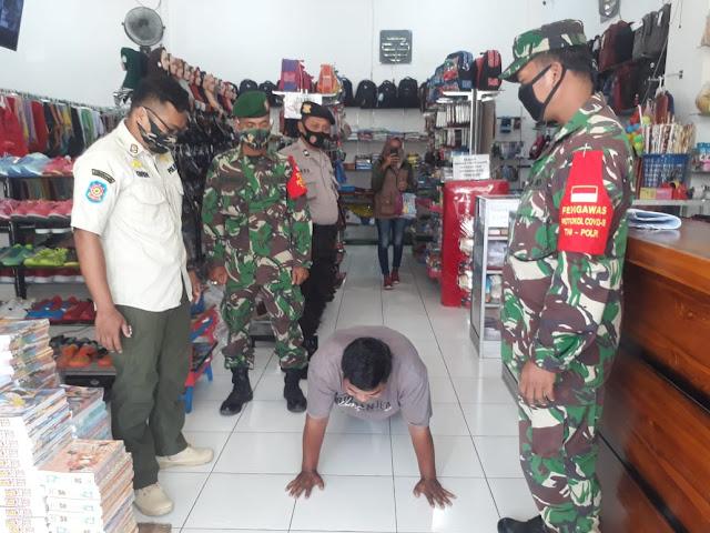 Untuk Kebaikan Bersama TNI - Polri Patroli Masker di Wilayah