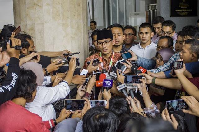 Sandiaga Uno Tinggalkan Rumah Prabowo, Batal Cawapres?
