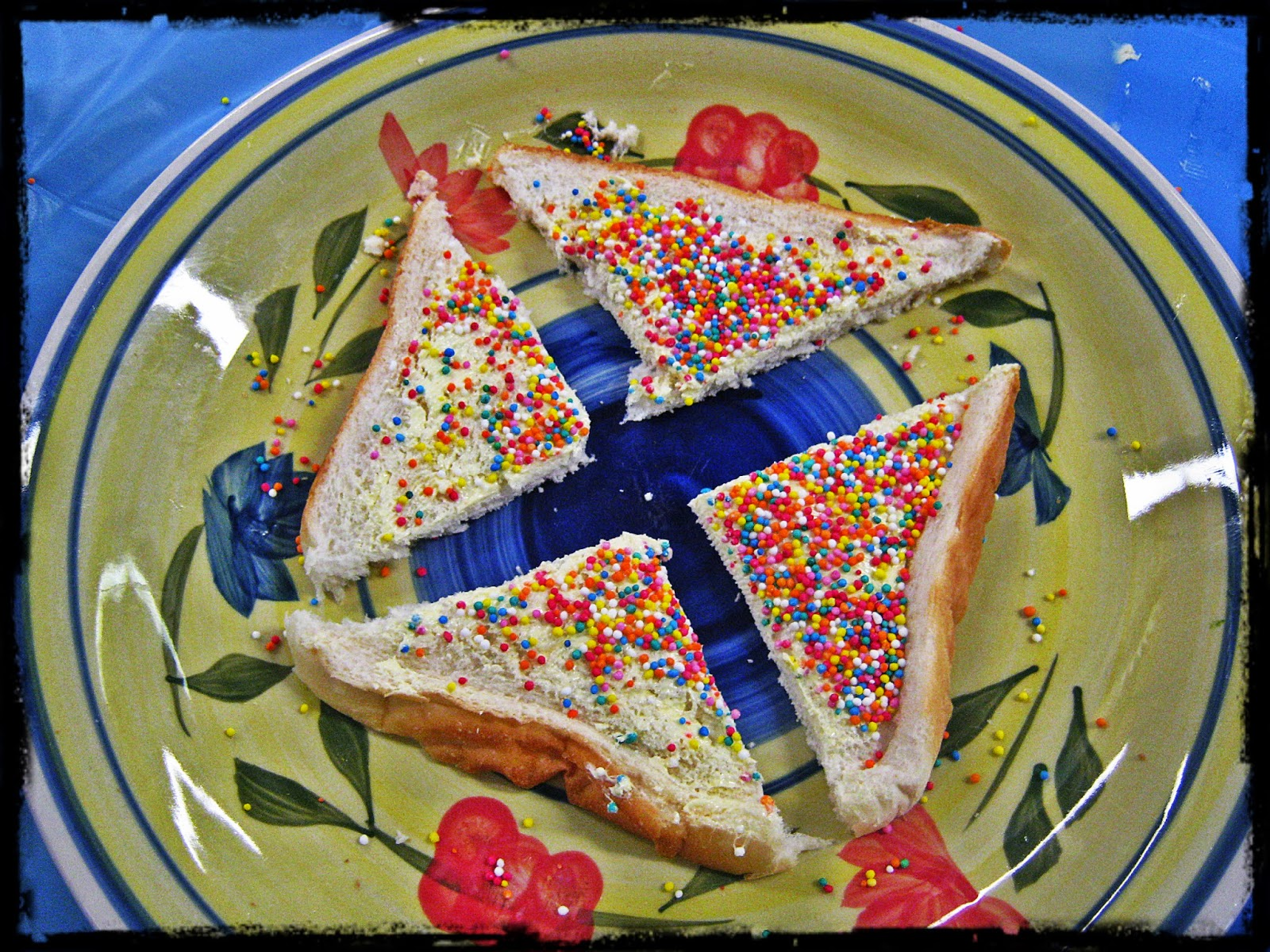 Start At 5 Fairy Bread Fractions