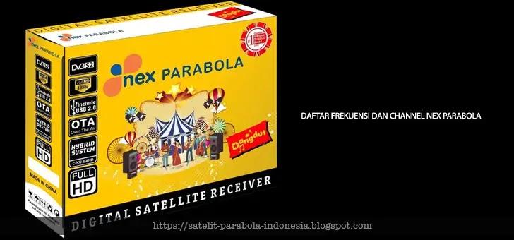 Inilah Frekuensi dan Daftar Siaran Nex Parabola - Emtek