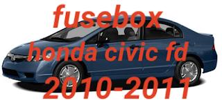 fusebox  CIVIC FD 2010-2011