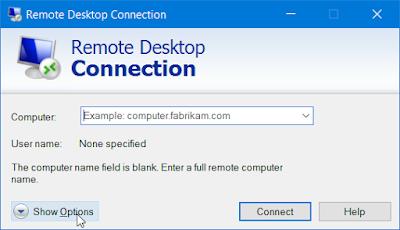 Remote Desktop Protocol (RDP), dan secara default berjalan di TCP port 3389