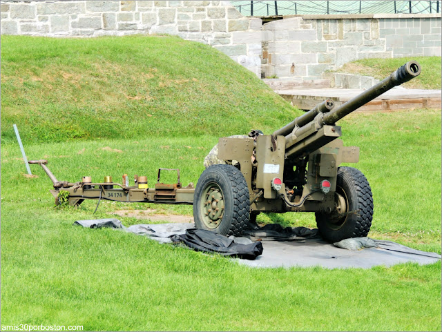 The Noon-Day Gun en la Ciudadela de Quebec
