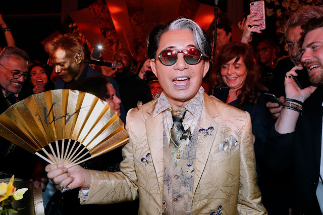 PARIS, FRANCE – FEBRUARY 28: Kenzo Takada celebrates his 80th Birthday at Pavillon Ledoyen on February 28, 2019 in Paris, France. (Photo by Rindoff Petroff/Castel/Getty Images)