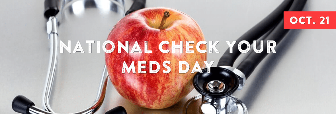 National Check Your Meds Day Wishes