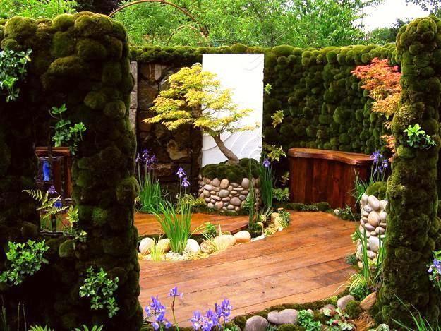 Contoh Desain Taman Jepang Cantik Dan Indah