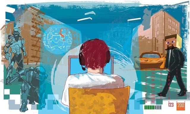 Copilul şi sanctuarul. Şi calculatorul. În Ozana - Bucureşti.
