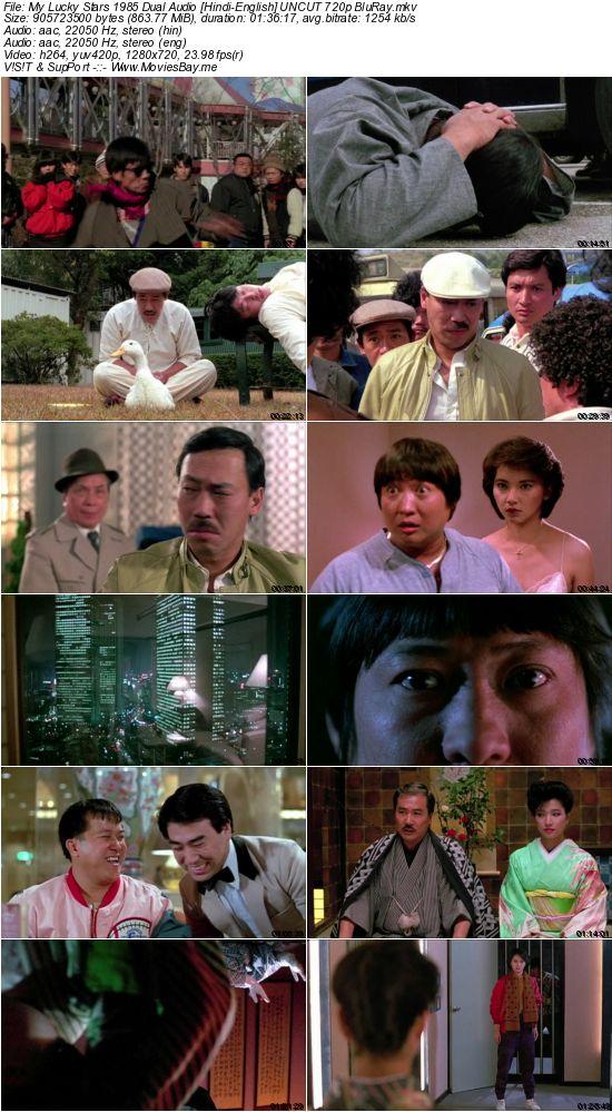 My Lucky Stars 1985 Dual Audio [Hindi-English] UNCUT 720p BluRay worldfree4u