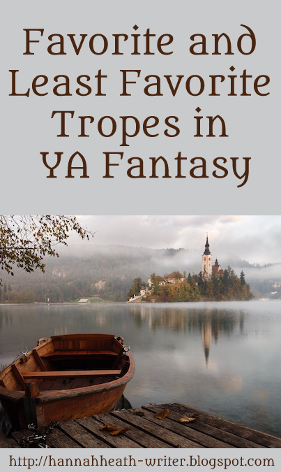 Favorite and Least Favorite Tropes in YA Fantasy
