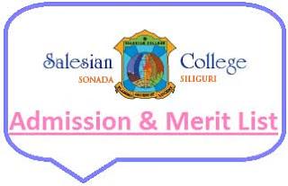 Salesian College Merit List