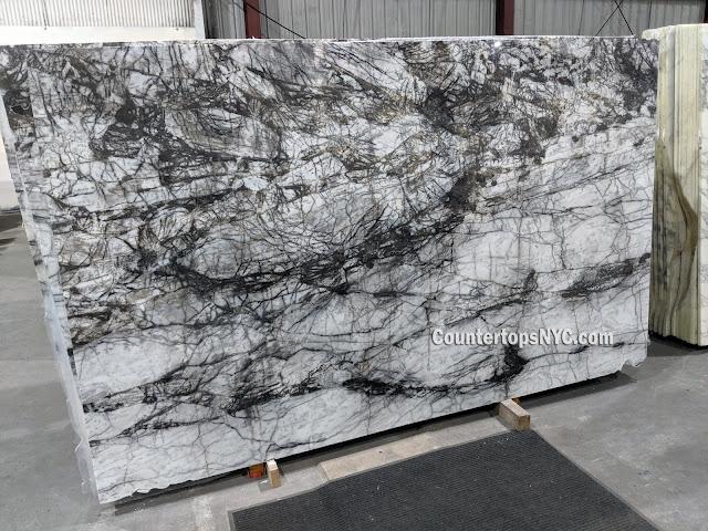 Nero Vita Marble Slabs NYC