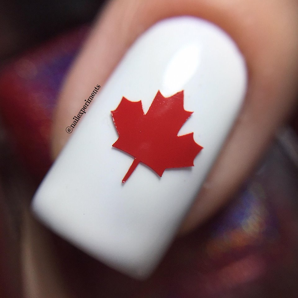 Nail Experiments: CANADA DAY | NAIL ART COLLAB