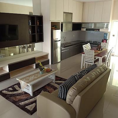 Ruang Keluarga Villa Citra Mandiri Medan