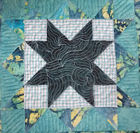 CHQuilts: double star quilted block