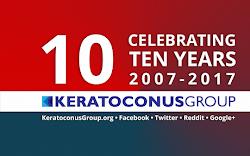 Keratoconus Group is now 10 years old 🎀🎉