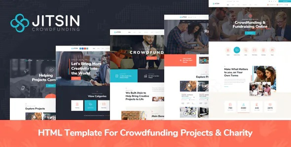 Best Template For Crowdfunding Projects & Charity