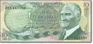Türk parasını koruma kanunu ne zaman çıkarılmıştır?
