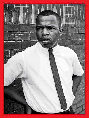 John Lewis 1963 Time Magazine cover