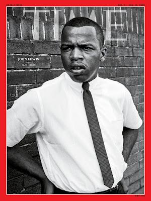 John Lewis 1963 Time Magazine cover
