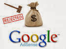 Alasan blog ditolak Google Adsense
