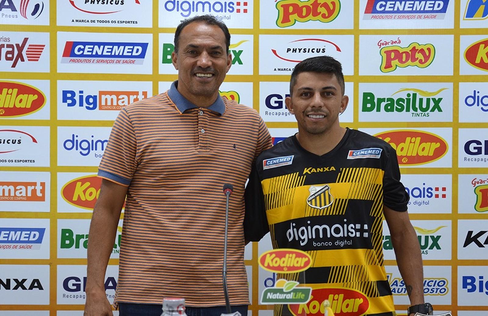 Novorizontino apresenta Felipe Marques para o Paulistão