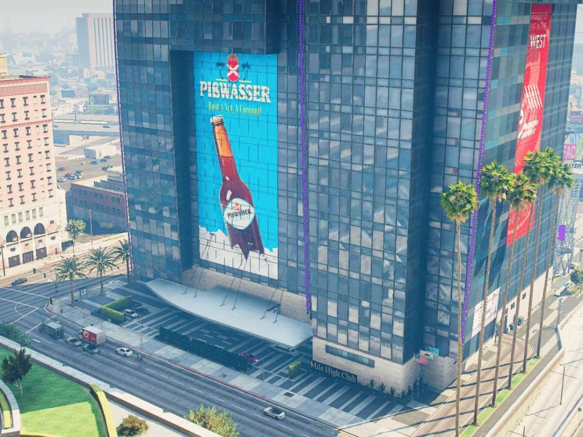 GTA V modders team up to finish the Mile High club, the building under construction since the game came out in 2013