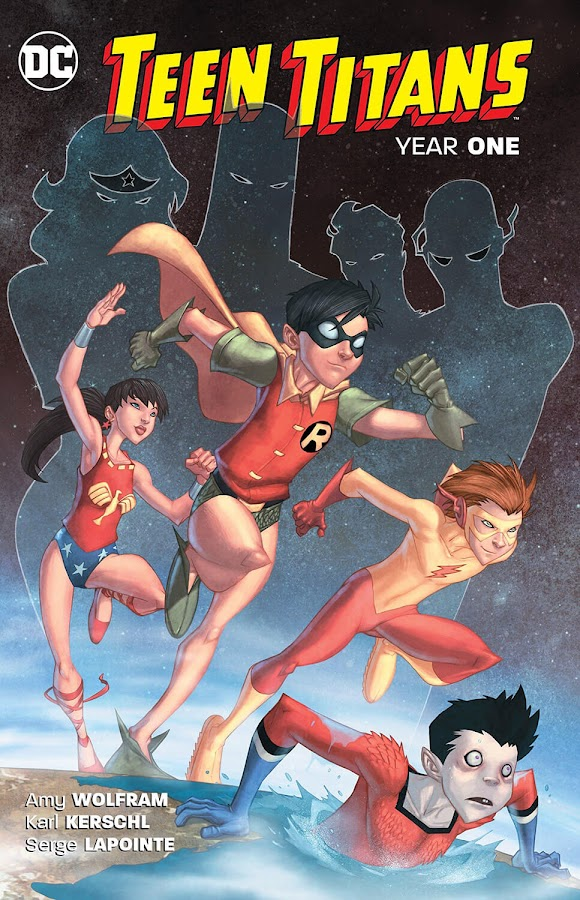 teen titans year one dc comics karl kerschl