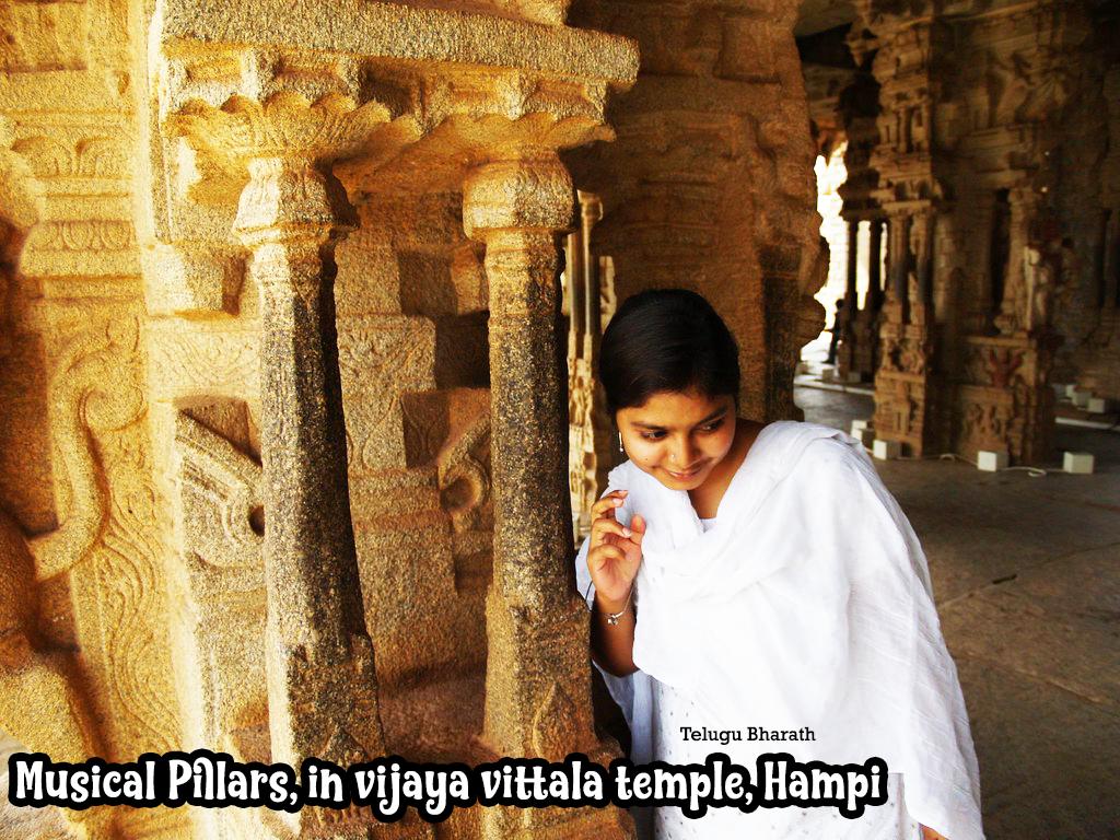 విజయ విఠ్ఠల దేవాలయం, హంపి - సంగీత స్తంబాలు