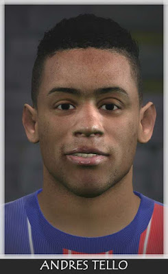 PES 2016 Andres Tello Face
