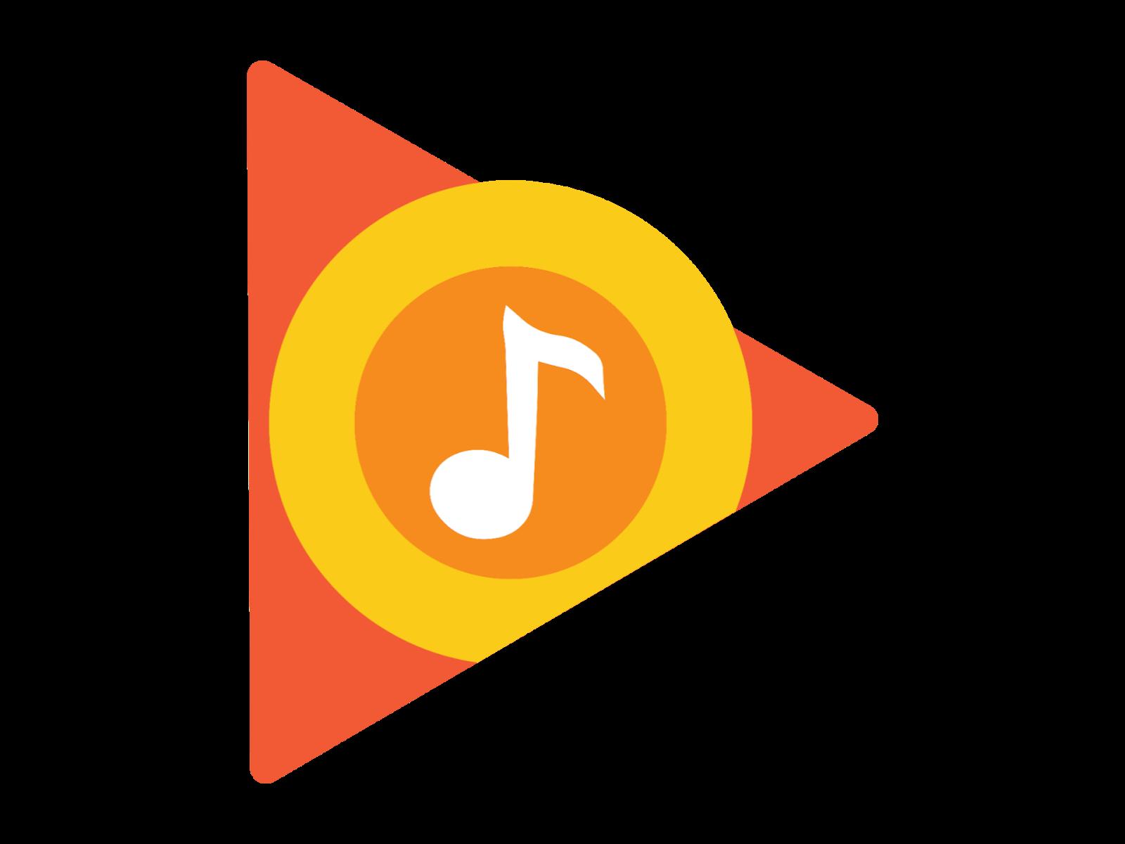 Logo Google Play Music Format PNG