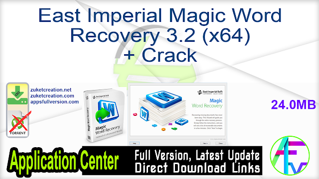 East Imperial Magic Word Recovery 3.2 (x64) + Crack
