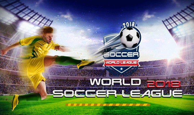 Game Sepak Bola tuk Android - World Soccer League