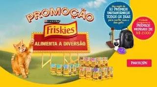 Cadastrar Promoção Friskies 2019 Alimenta Diversão - 2 Mil Reais Todo Mês
