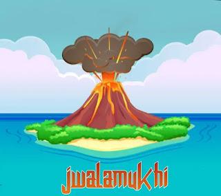 ज्वालामुखी किसे कहते - volcano in hindi
