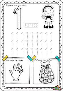 Cuadernillo para aprender los números pdf