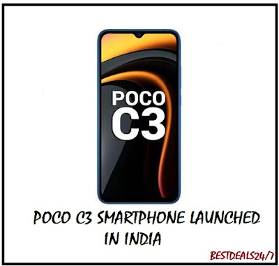 Poco C3 Smartphone Launched in India