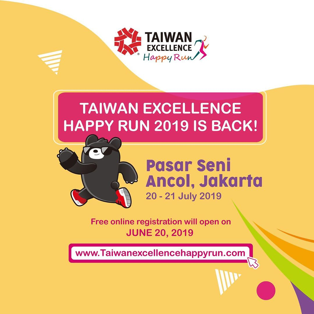 Taiwan Excellence Happy Run • 2019