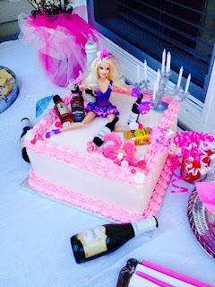 Imagenes de humor - torta de barbie peda