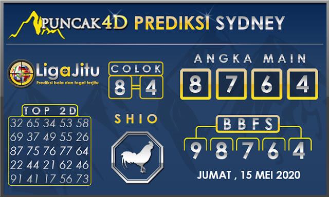 PREDIKSI TOGEL SYDNEY PUNCAK4D 15 MEI 2020