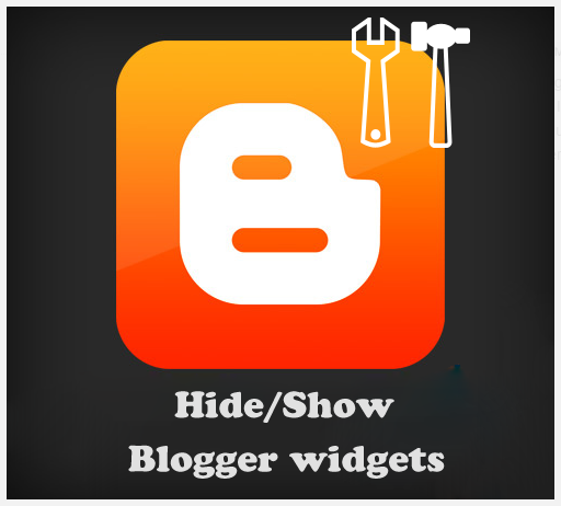Hide Or Show/Hide Specific Widgets On Specific Pages in Blogger