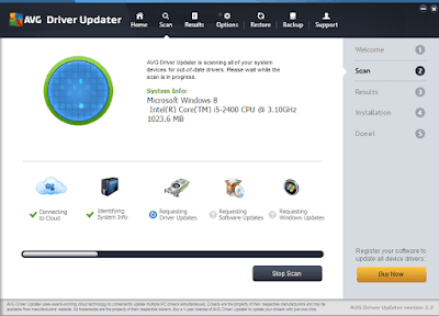 Screenshot AVG Driver Updater 2.3.0 Full Version
