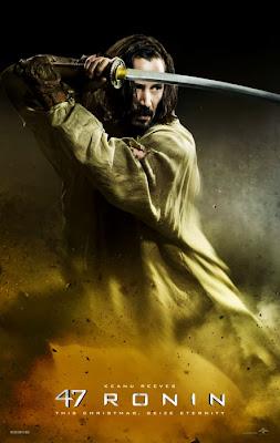 47 Ronin Poster - Keanu Reeves