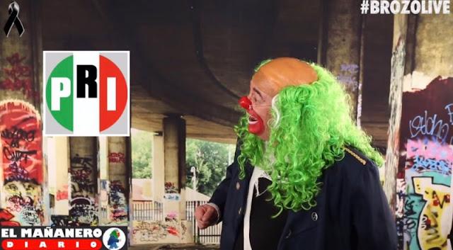 'En el PRI dicen: tendremos que postular a un pendejo que no robe', se burla Brozo.