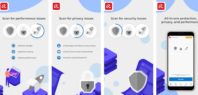 Avira Antivirus - Virus Cleaner & VPN‏